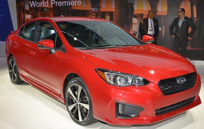 Subaru Impreza 2017: відома ціна