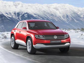 Volkswagen привезе до Женеви кросовер з витратою 1,8 літра