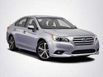 Нову Subaru Legacy показали публіці