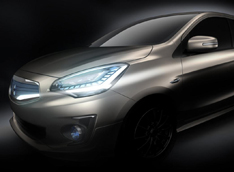 Mitsubishi випустить компактний седан