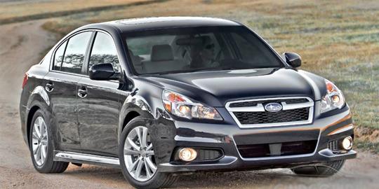 Subaru Legacy 2013 вже в Україні