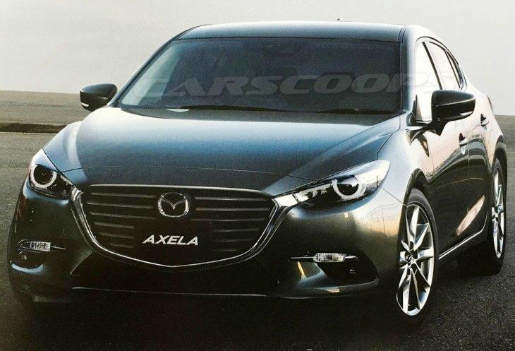 Перша фотографія нової Mazda 3