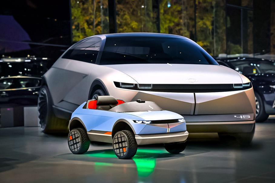 У Hyundai показали свій найменший електрокар