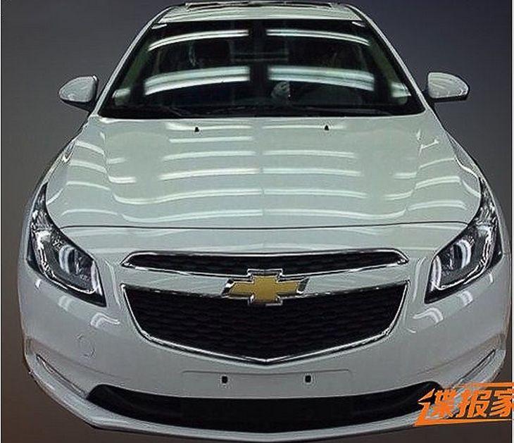 Новий Chevrolet Cruze готується до презентації