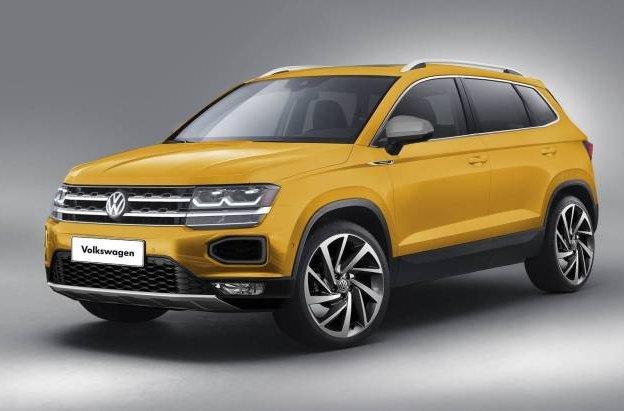 Новий глобальний кросовер Volkswagen: перші зображення