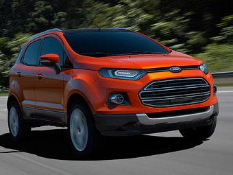 Ford розсекретив новий глобальний кросовер EcoSport