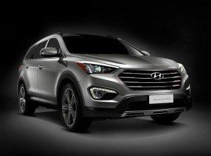 Кросовер Hyundai Santa Fe зразка 2013