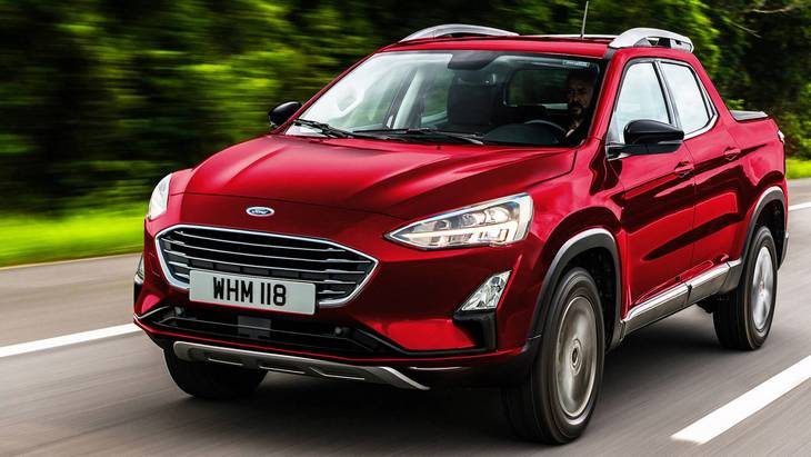 Ford оголосив про запуск компактного пікапа на базі Focus