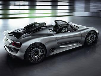 Нові дані про гібридний суперкар Porsche