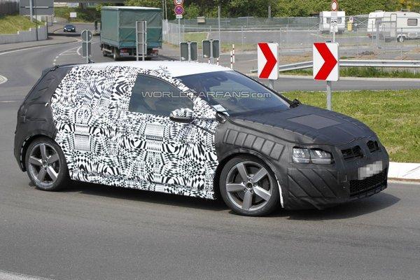 Німці тестують новий Volkswagen Golf GTI