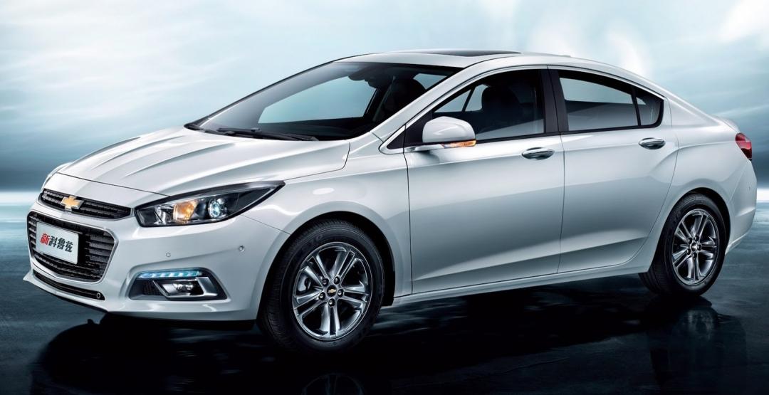 Нова інформаці про Chevrolet Cruze 2016