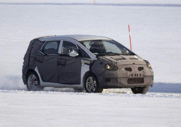 Hyundai тестує модель ix30
