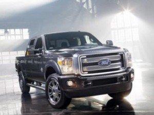 Компанія Ford представила F-серію пікапів нового модельного року