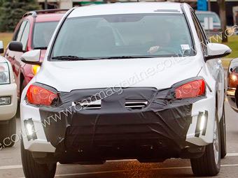 Фотошпигуни зняли спільний електрокар Toyota і Tesla