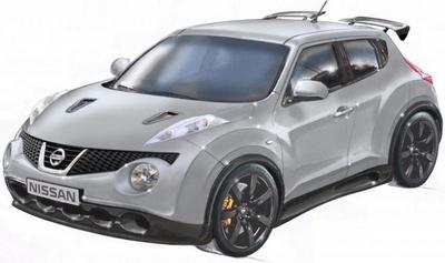 Серійна зовнішність Nissan Juke-R