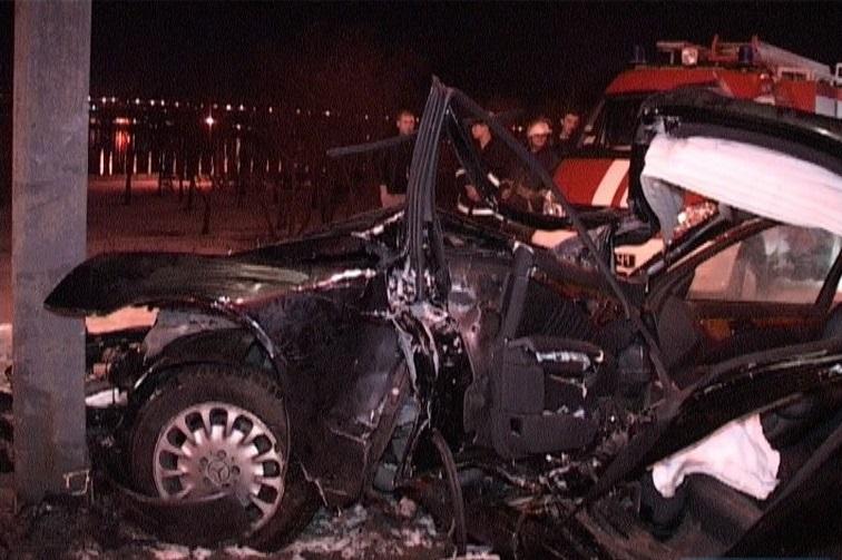 У Києві Mercedes спричинив потужне ДТП