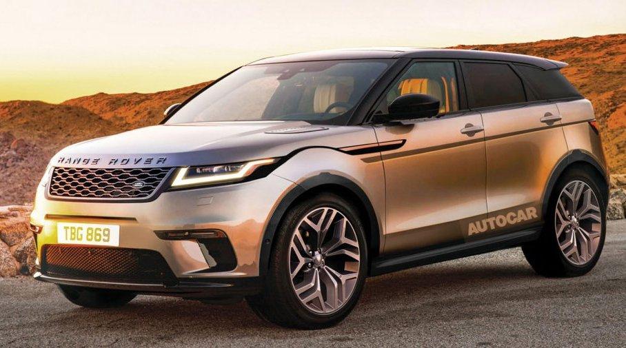 Land Rover Evoque 2018: нова інформація