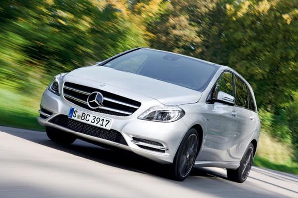 Нові двигуни для Mercedes B-классу