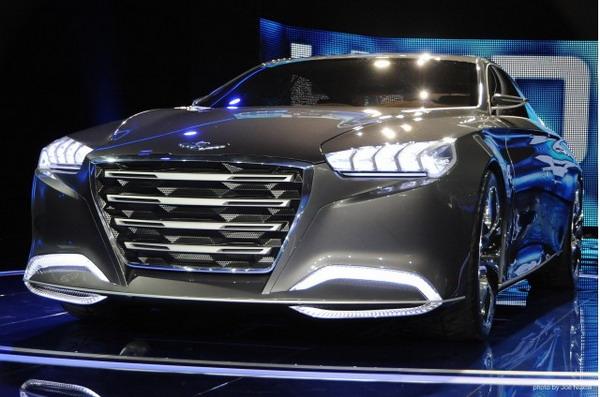 Hyundai HCD-14 - майбутнє корейського преміум-класу