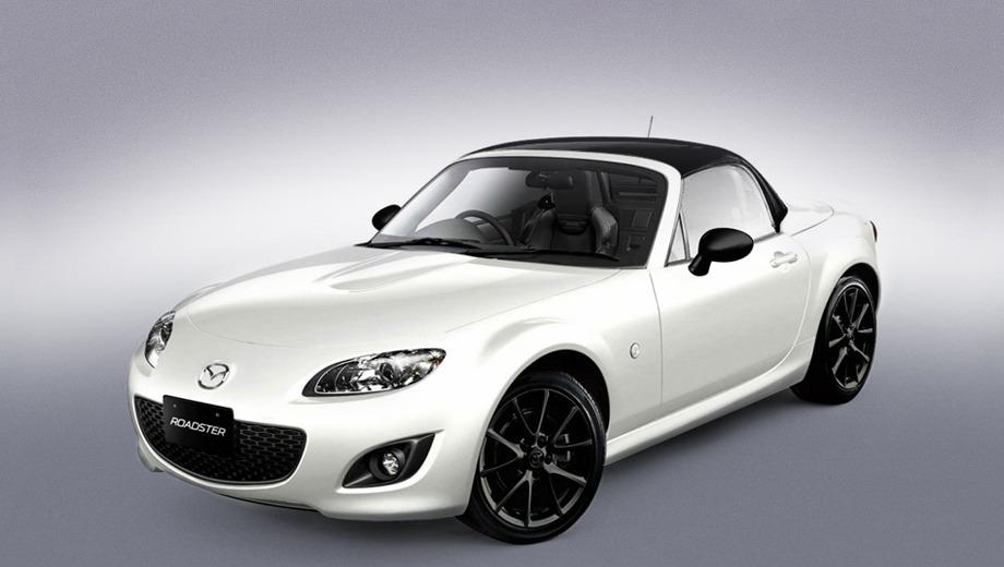 У новій версії родстер Mazda MX-5 виявився двоколірним
