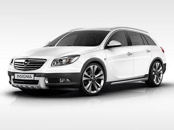 Позашляховик Opel Insignia - перші зображення