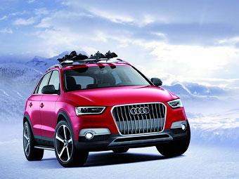 Audi привезла до США Audi Q3 Vail