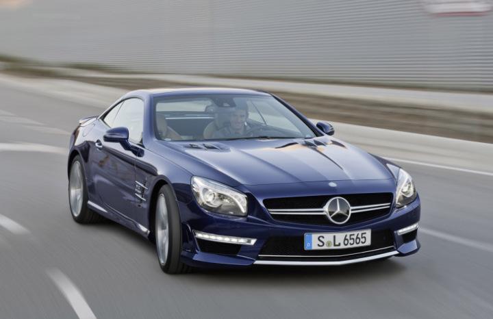 Mercedes-Benz представив найпотужніший SL останнього покоління
