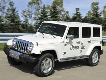 Перший електрокар Jeep покажуть у 2012 році