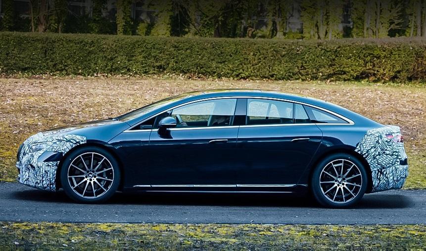 Mercedes-Benz EQS: перше офіційне фото