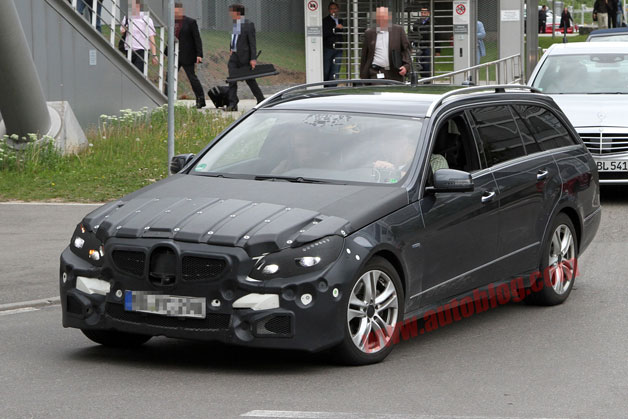 Новий Mercedes-Benz E-class вже сфотографували