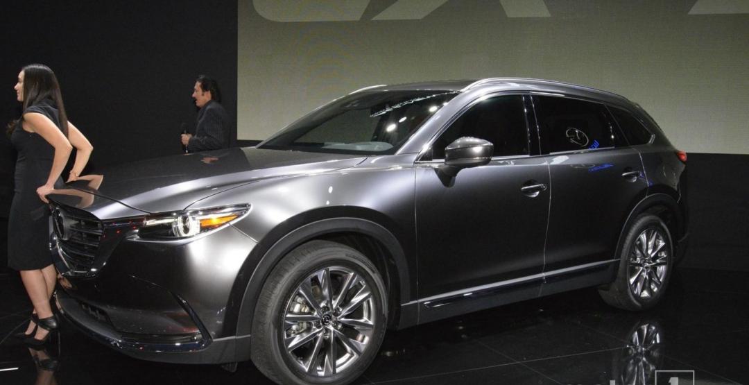 Mazda CX-9 виходить на ринок Європи