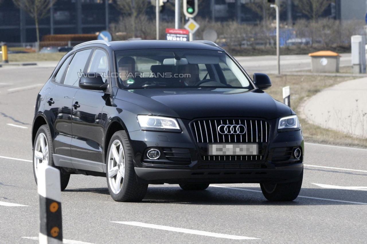 Шпигунські фото Audi Q5 2013
