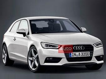 ЗМІ роздобули першу фотографію нового хетчбека Audi A3