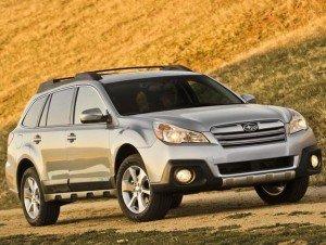 Subaru Outback 2013 вже в Україні