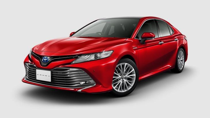 Toyota Camry 2018: офіційна презентація