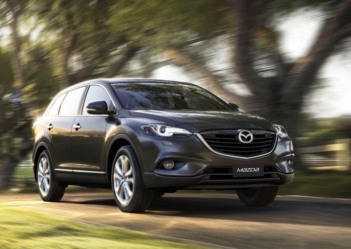 Нову Mazda CX-9 показали публіці