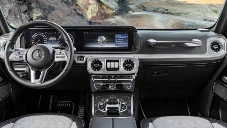 Mercedes офіційно розсекретив інтер'єр нового G-Class