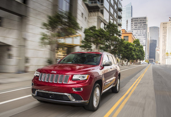 Jeep Grand Cherokee 2014: офіційні фото