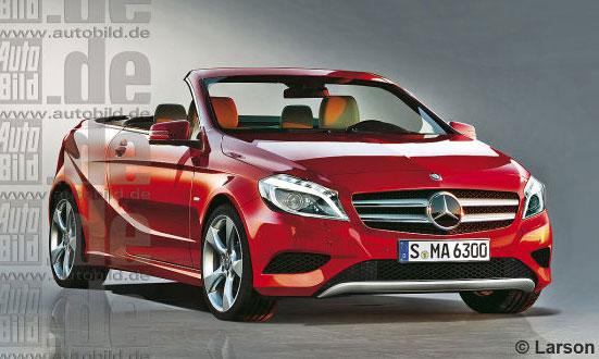 Маленький кабріолет від Mercedes-Benz