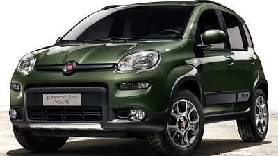 Кросовер Fiat Panda XL отримає плтформу платформу Jeep
