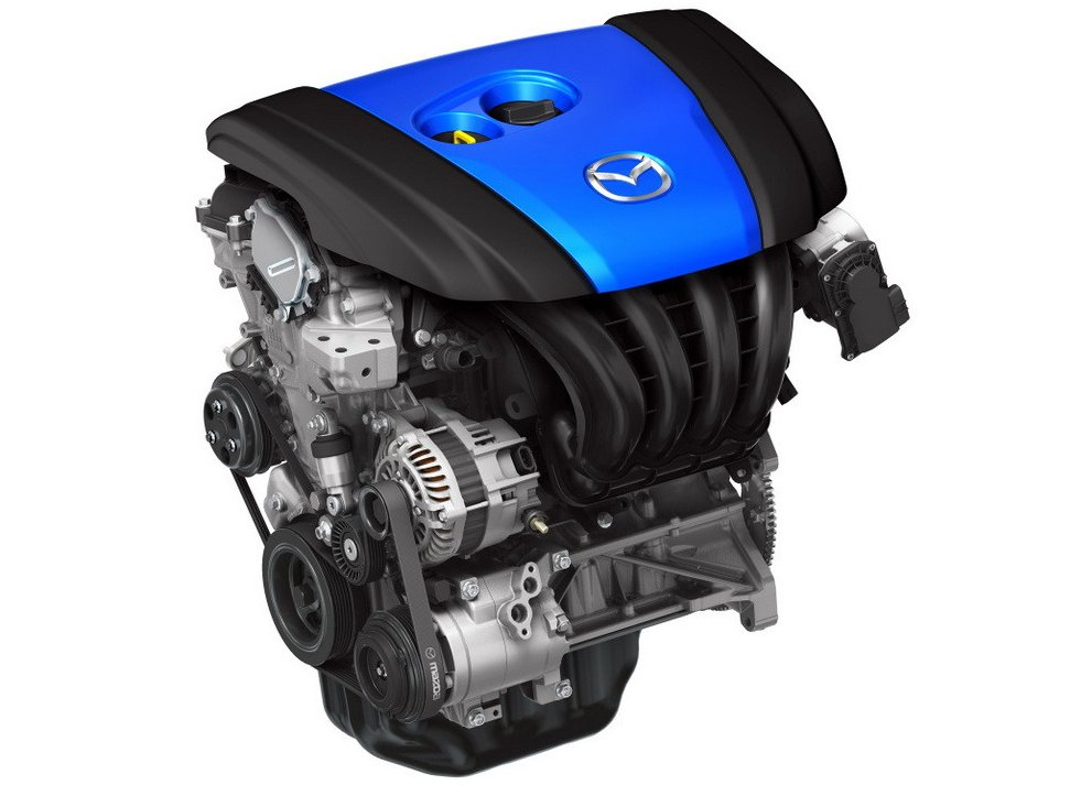 Mazda з моторами Skyactiv-3 хоче конкурувати з електромобілями