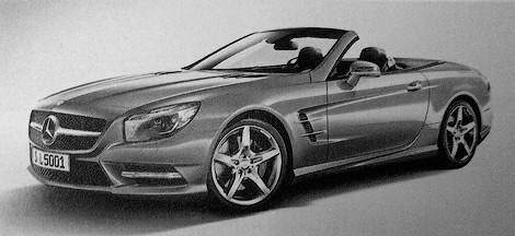 Перші зображення нового покоління Mercedes-Benz SL