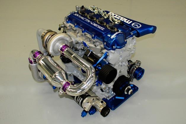 Mazda оснастить учасників Grand Am дизельним двигуном