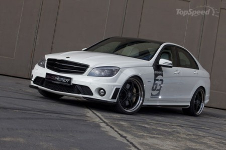 Mercedes C63 White Edition Kicherer