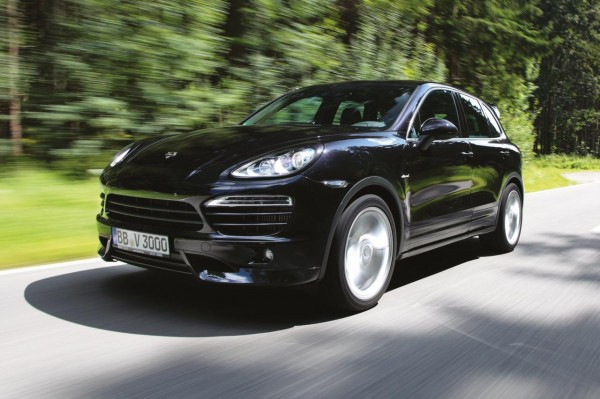 Тюнери поліпшили дизельний Porsche Cayenne S