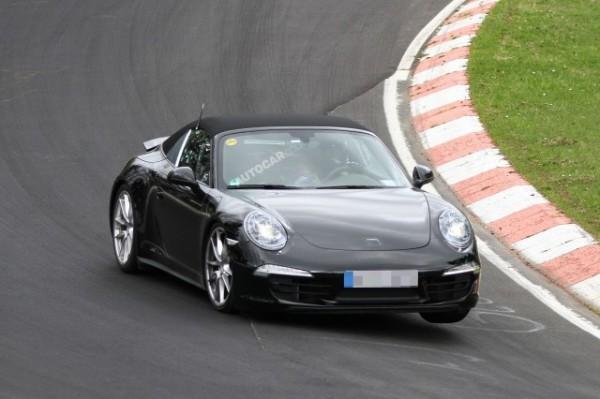 Шпигунські фотографії нової версії легендарного 911-го Porsche