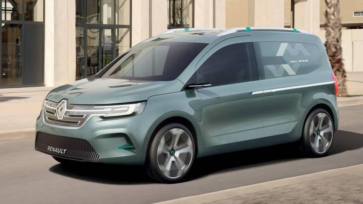 Renault зробить з Kangоo повністю електричну версію