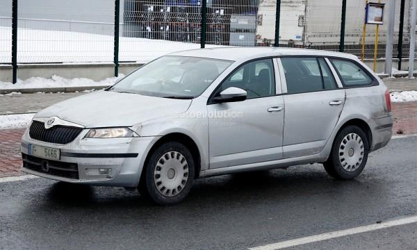 Нова Skoda Octavia отримала кузов