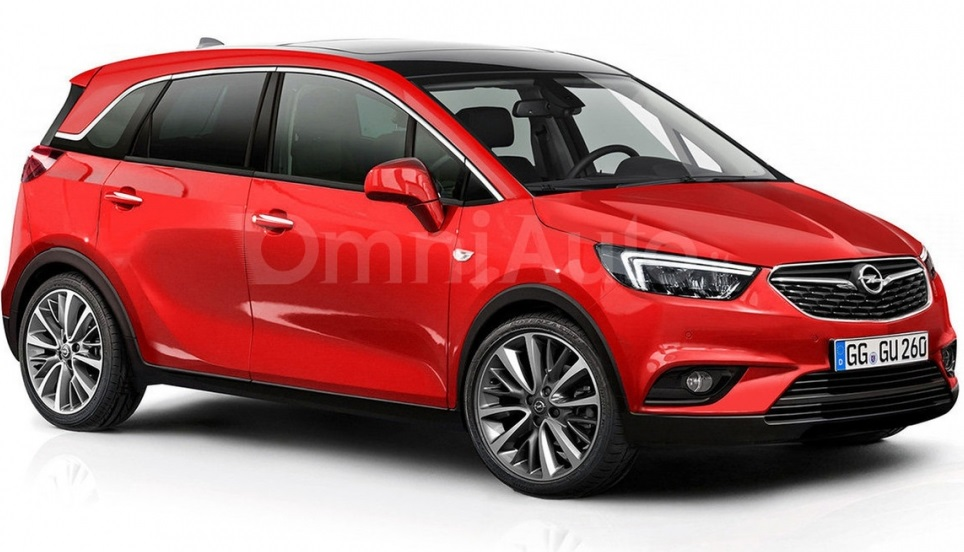 Opel Meriva 2017 вже можна побачити