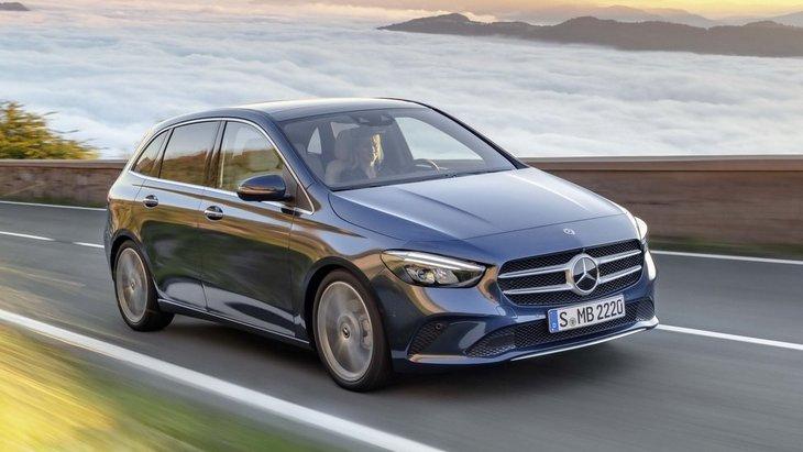 Mercedes-Benz випустив нове покоління мінівена B-Class